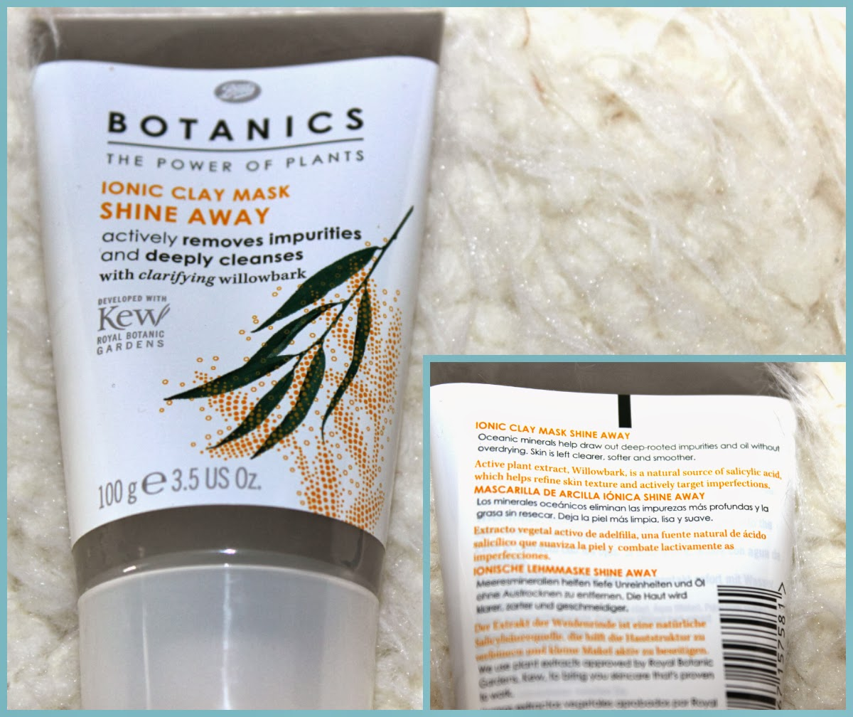 Boots Botanics Shine Away Ionic Clay Mask Review