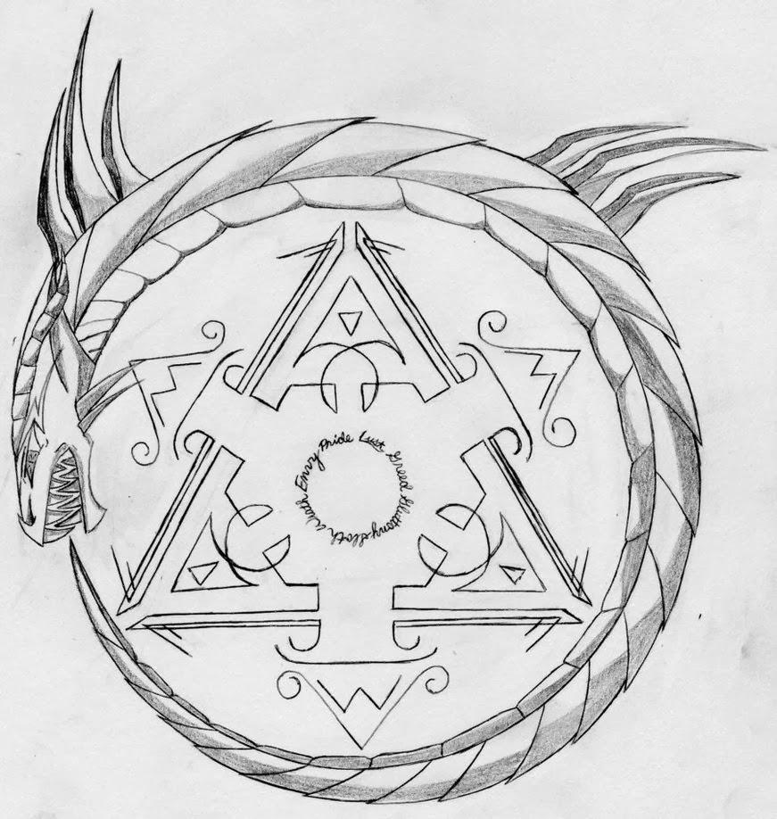 Ouroboros Tattoo Design: Free Amazing Styles: Ouroboros Tattoo Design Images Photos
