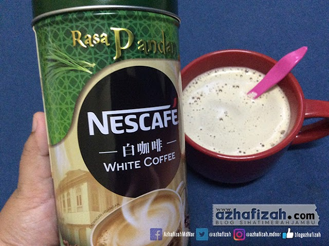 Nescafe White Coffee Rasa Pandan