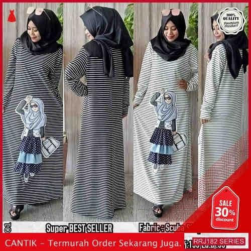 Jual RRJ182D402 Dress Chitatos Maxy Wanita Ik Terbaru Trendy BMGShop