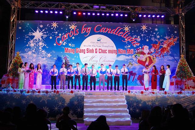 Ngày lễ giáng sinh Ciputra Hà Nội