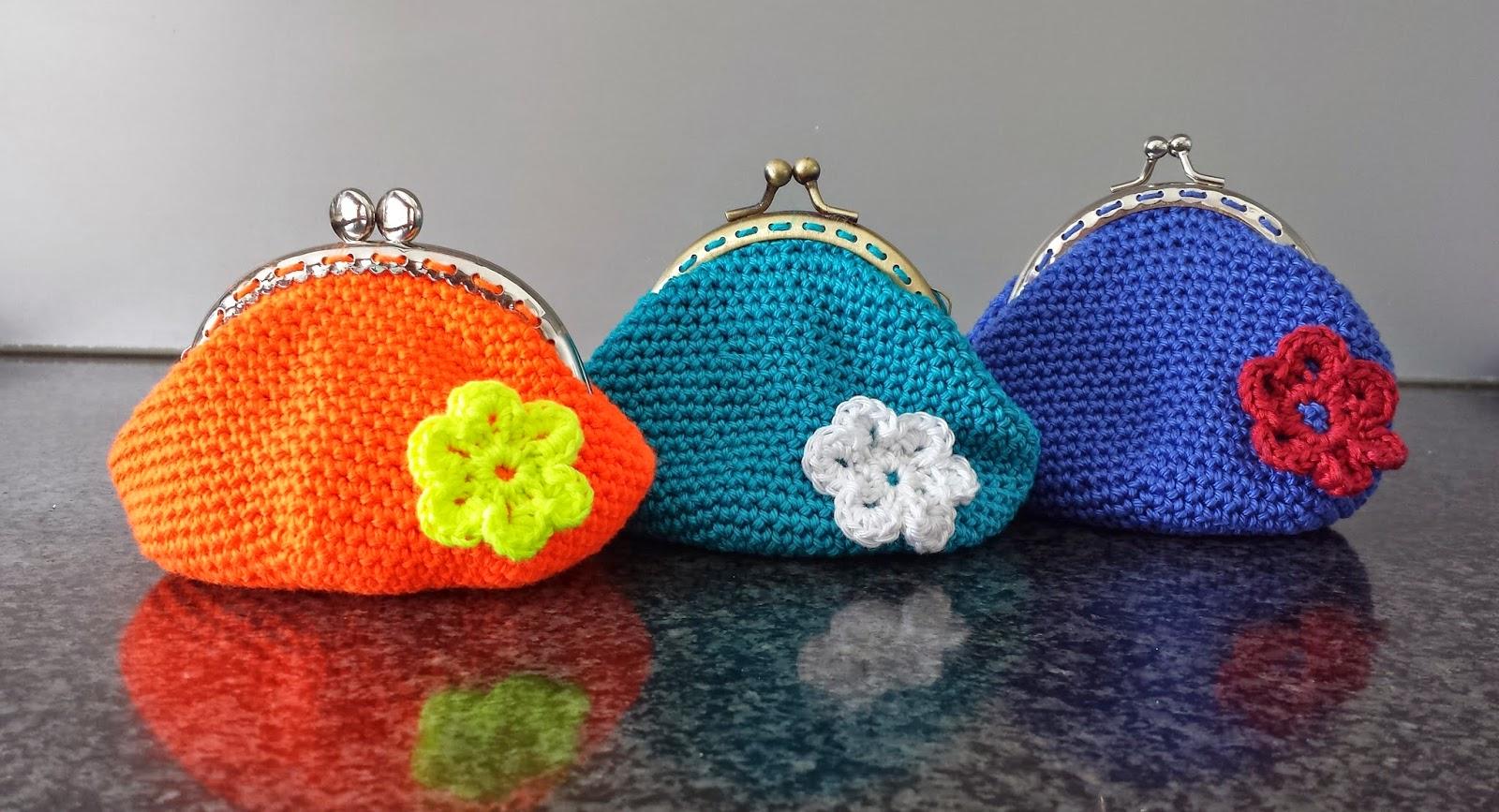 Crochets4u Gratis Patroon Gehaakte Portemonneetjes Free Pattern