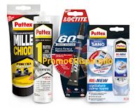 Logo Con Pattex e Loctite vinci buoni spesa da 500 euro e 1 da 5.000