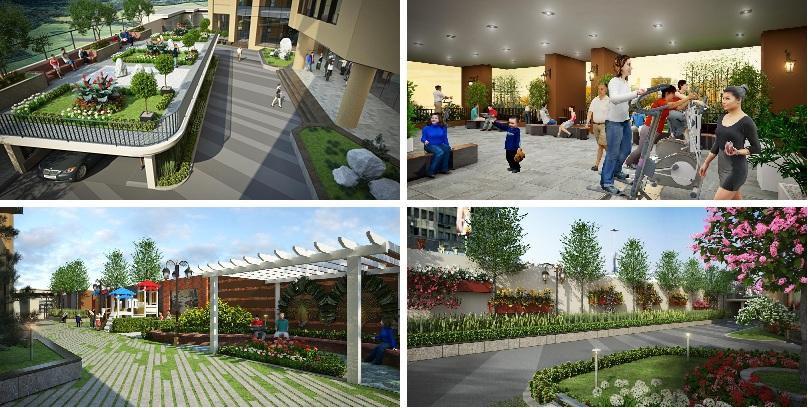 Tiện ích dự án Chelsea Residences E2 Yên Hòa