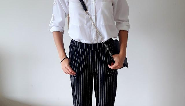 Jesienne must have | Spodnie w paski