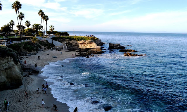 La Jolla Beach em San Diego