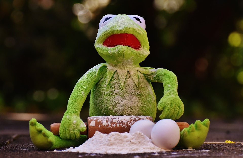 kermit cooking with shake and bake coating mix recipe