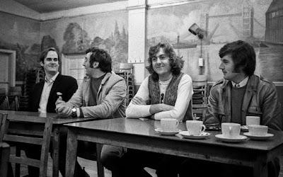 Monty Python detrás de las cámaras