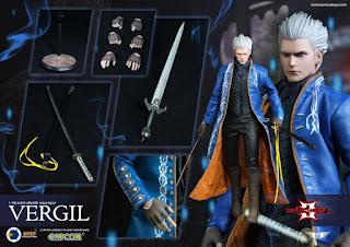 """Figuras. Abierto pre-order de Vergil del """"Devil May Cry 3"""" - Asmus Toys"""