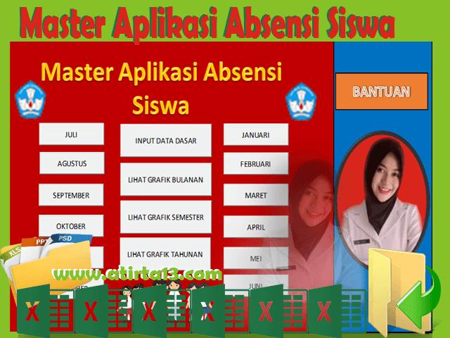 Master Aplikasi Absensi Siswa Format Excel Gratis