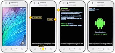 Download mode Samsung Galaxy J1 Ace J110G