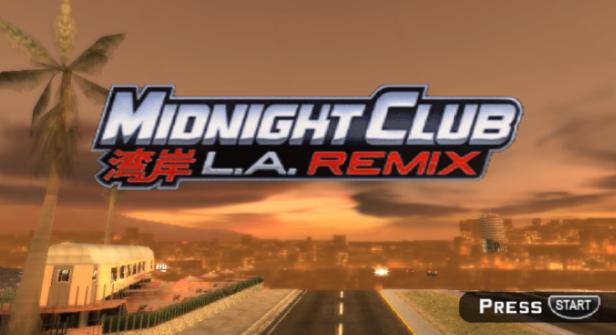 Midnight Club LA Remix PPSSPP