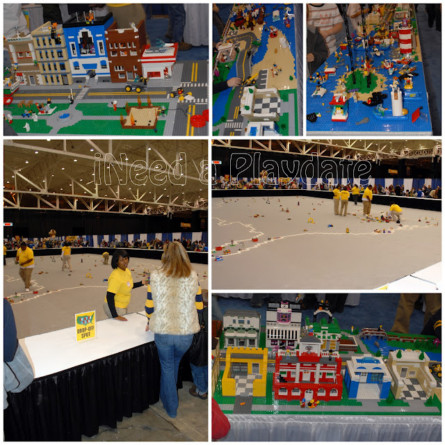 Pictures from Lego KidsFest Cleveland 2011 @mryjhnsn | city of legos