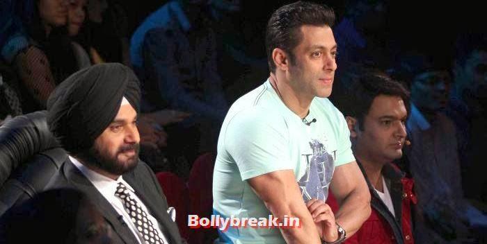 Navjot Singh Sidhu, Salman Khan, Kapil Sharma, Salman Khan & Daisy Shah on Comedy Nights with Kapil