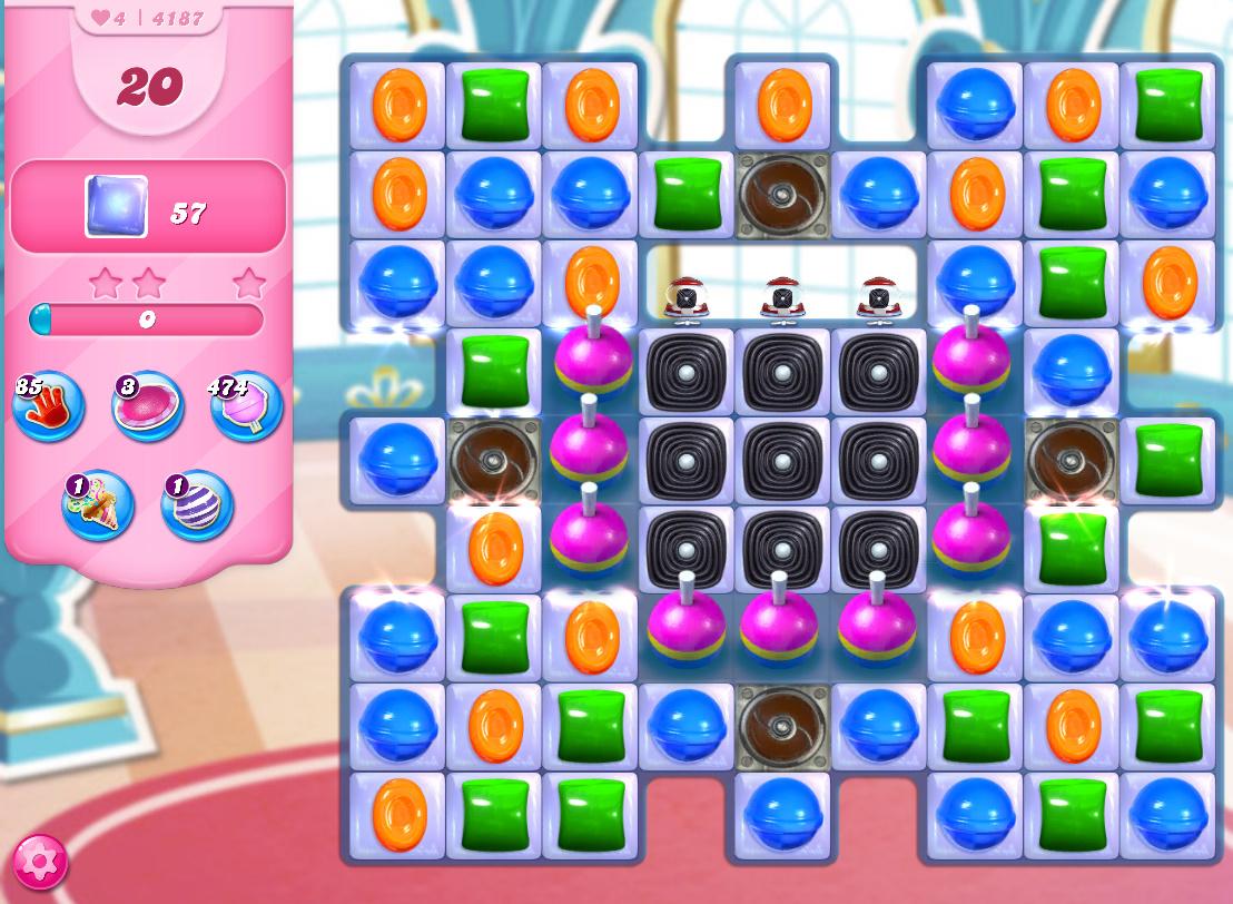 Candy Crush Saga level 4187