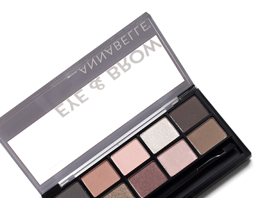 Annabelle Spring 2017 Eye Brow Eyeshadow Palette Review