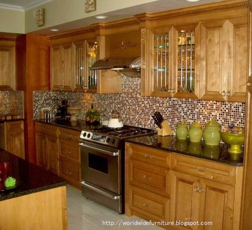 All About Home Decoration & Furniture: Kitchen Backsplash