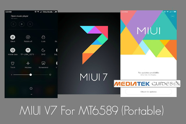 [MT6589] MIUI V7 ROM Multi-language Edition