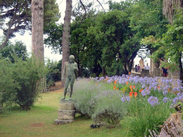 Villa Cimbrone gardens Ravello