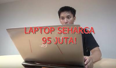 Laptop ini Harganya 95 Juta!