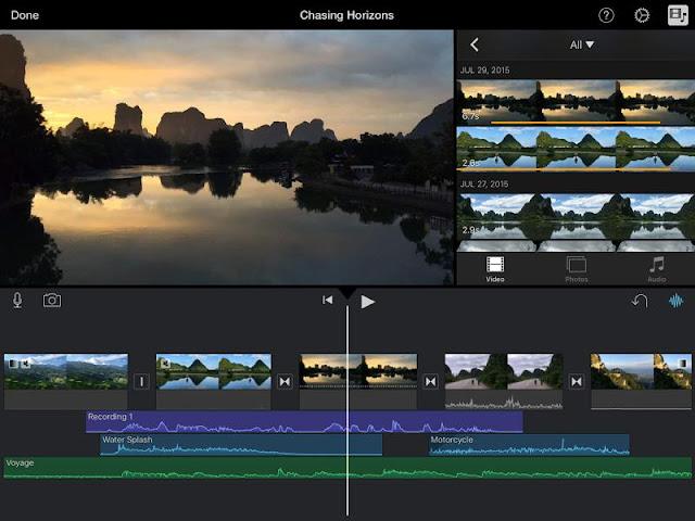 Aplikasi Editor Video iPhone Terbaik iMovie