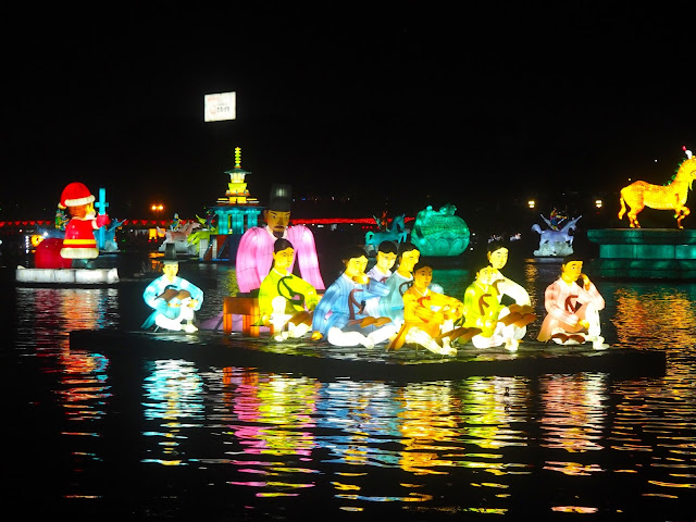 Jinju Lantern Festival, South Korea