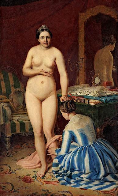 Aleksej Gavrilovič Venetsianov: Il bagno di Diana