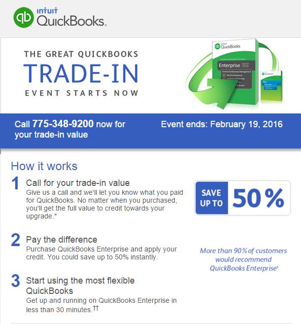 QuickBooks Reno