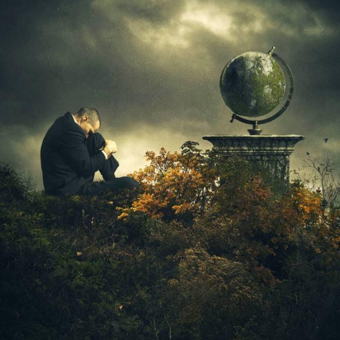 Внутренний ландшафт разума. Michael Bilotta (фотограф)
