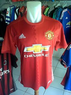 Jual Jersey Manchester United Home 2016/2017 di toko jersey jogja sumacomp, murah berkualitas