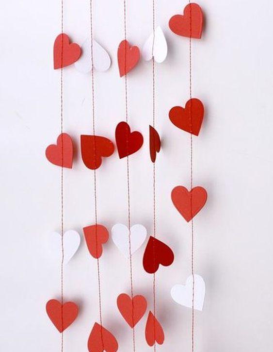 Tutorial de Artesanías: 14 Ideas para el día de San Valentin