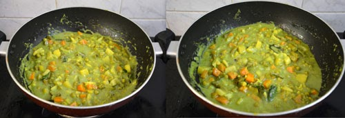 Mixed vegetable sagu-Karnataka Style