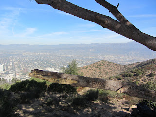 View north from Burbank Peak
