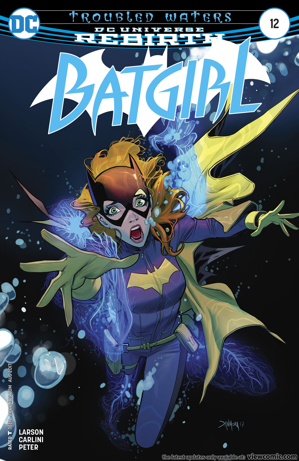 Batgirl v5 012 (2017)  | Vietcomic.net reading comics online for free