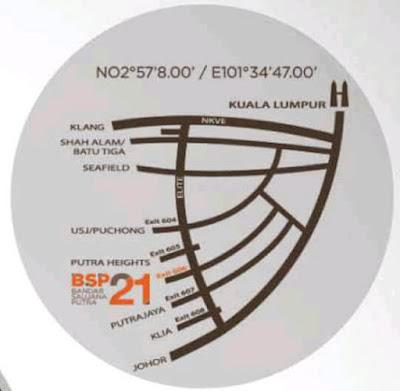 BSP21 Map Location