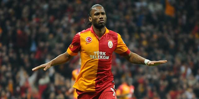 Didier Drogba'dan Galatasaray'a kutlama