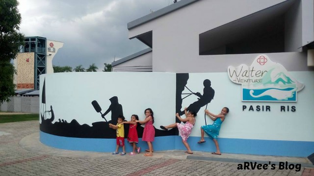 Kids having fun in Pasir Ris Singapore