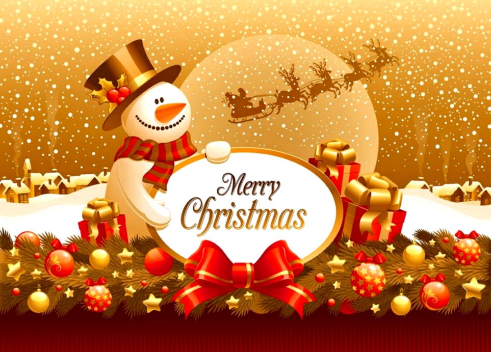Merry Christmas Cute Wallpaper Pack Wallpapers