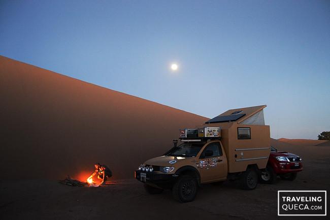 viajar a Marruecos en camper