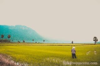 Buddha and farmer story,karma story buddha