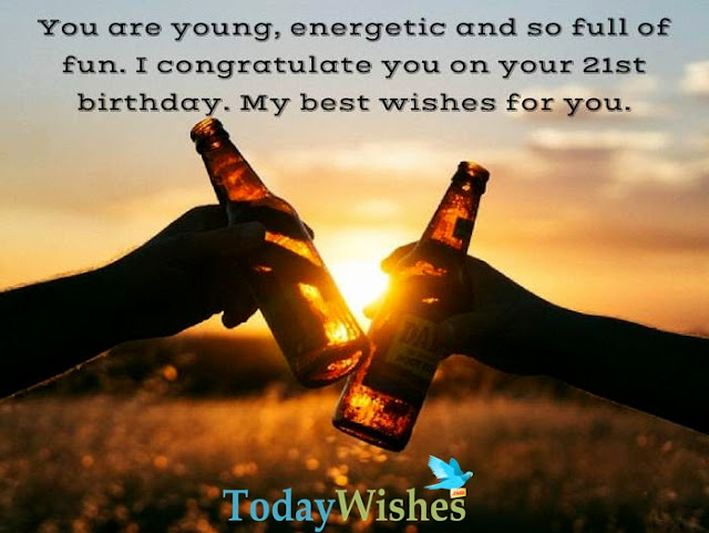 21st Birthday Quotes
