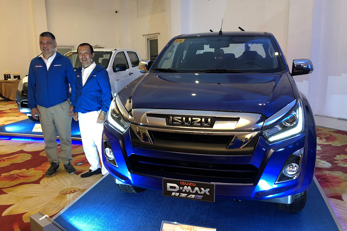 The Euro-4 compliant RZ4E engine is now on the Isuzu D-Max. Slated to  arrive at all Isuzu showrooms by the end of this month, this  small-displacement ...