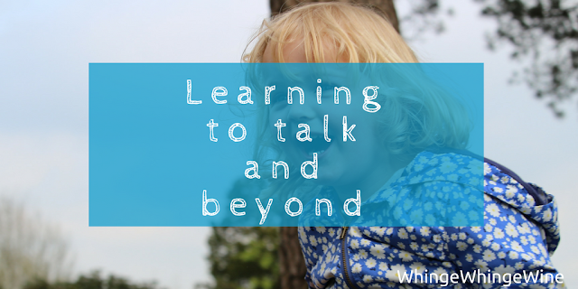Learning to talk and beyond: First words and probing questions