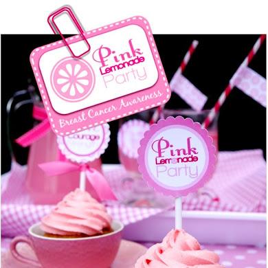 Free Printables   Pink Breast Cancer Awareness Kit