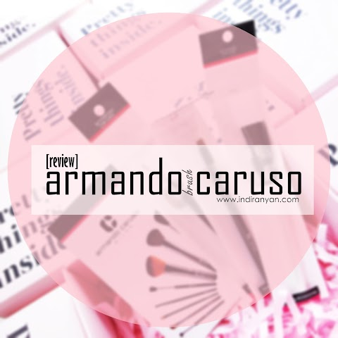 [TOOLS] Armando Caruso : Dented Presicion Liner Blush, Mask Brush, Brow Brush*