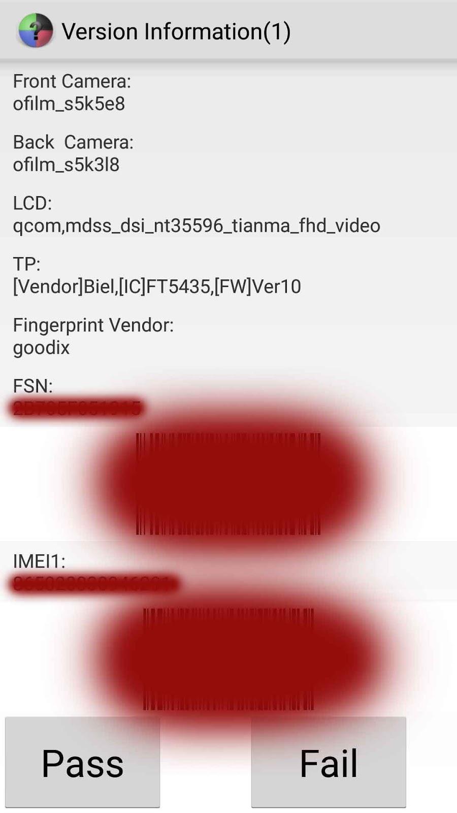 Cara Mudah Cek Sensor Kamera Xiaomi Redmi Yukampus 1 Status Berikut Beberapa Jenis Kode Yang Ada Pada Smartphone