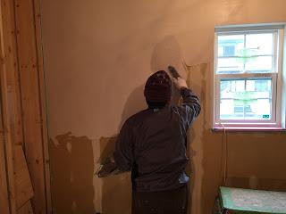漆喰塗り壁 三重県自然素材の家 全館空調