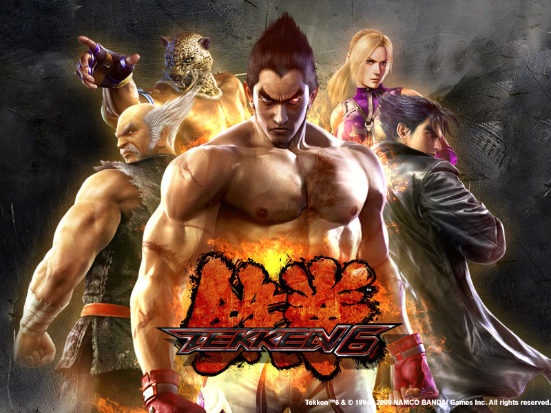 TEKKEN 6 the most Famous and Addictive Game of PSP with ...