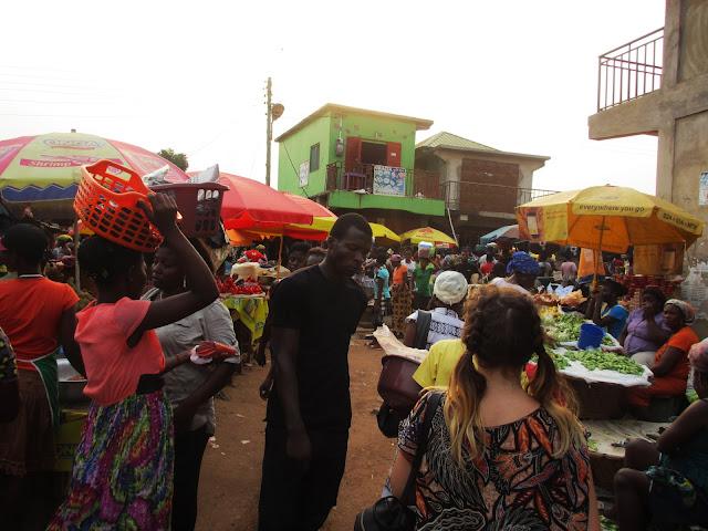 Krobo, Ghanaian life, life in Ghana, Ghana travel, African market