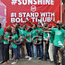 "#IStandWithBolaTinubu"" - `1000's Of Tinubu's Loyalists Stage Solidarity Walk In Lagos"